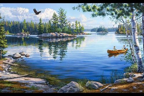 Blue Waters by Darrell Bush for Elizabeth's Studio