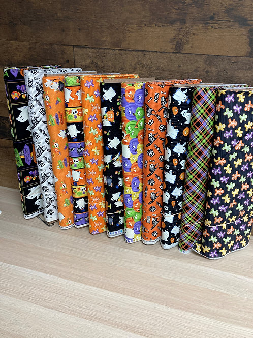 Glow Ghosts from Henry Glass Fabrics