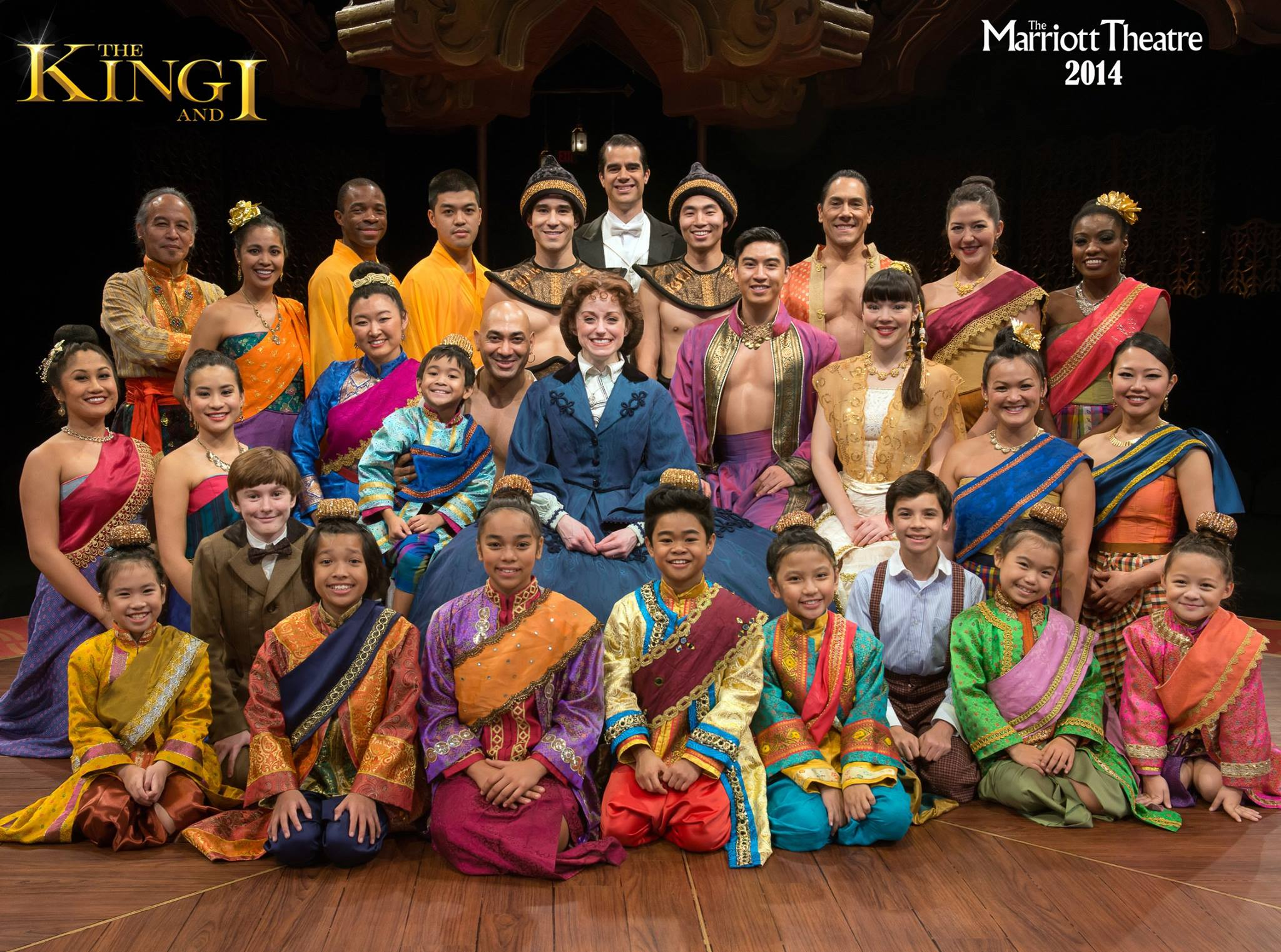 Full Cast of The King and I