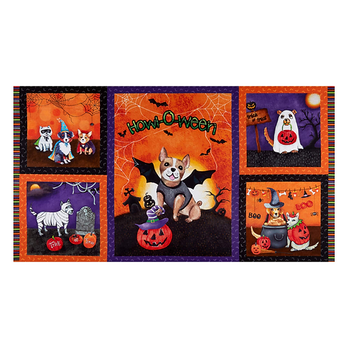 Howl-O-Ween Muttsqarade Panel by Micheal Miller