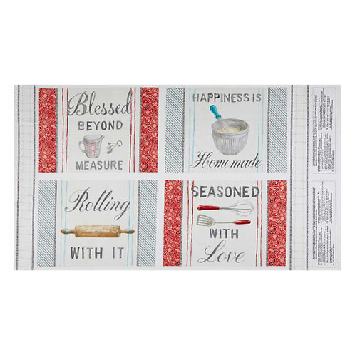 Homemade with Happiness Placemats Panel