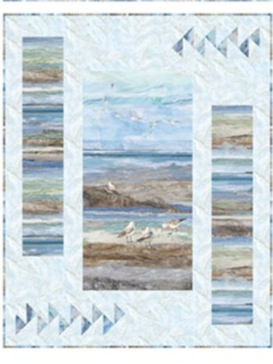 Panel Pizzazz featuring Swept Away by Northcott