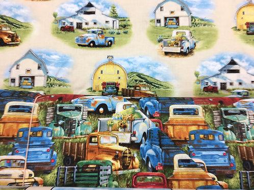Vintage Trucks by Elizabeth Studios