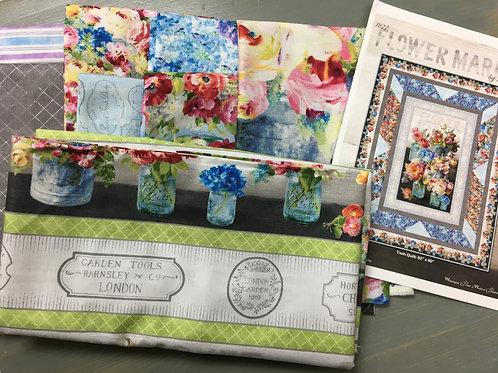 Flower Market by Wilmington Fabrics