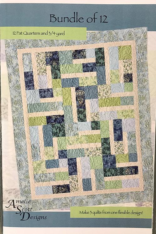 Bundle of 12 by Amelie Scott Desgins
