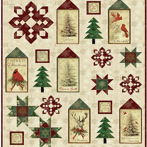 Postcard Christmas by Clothworks