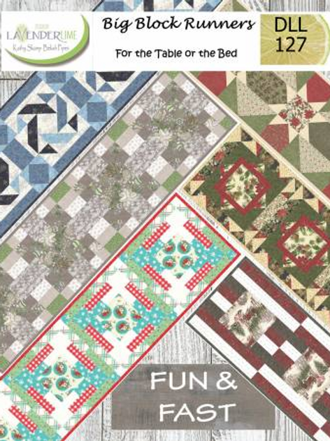 Big Block Runners by Designs by Lavender Lime