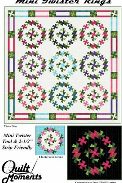 Mini Twister Rings Pattern by Quilt Moments