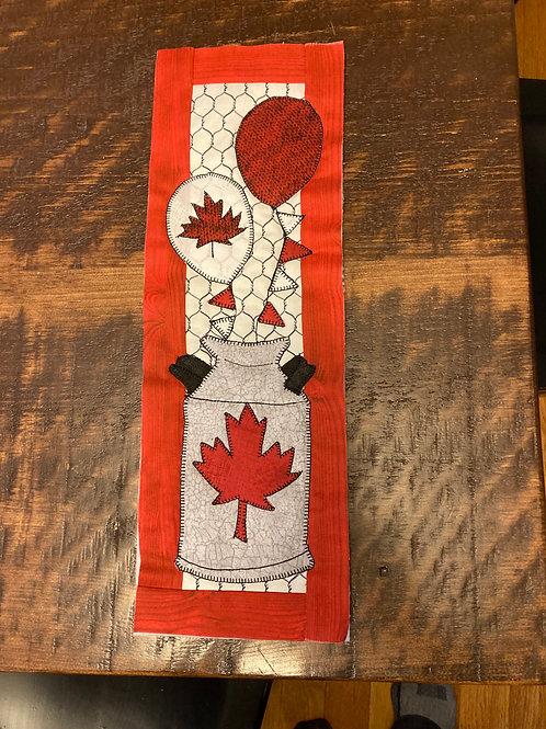 Flag Day Milkcan Kit with hanger