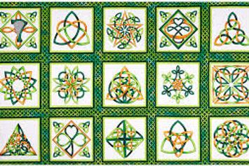 Celtic Knot Panel by Henry Glass