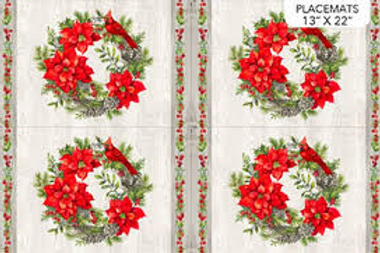 The Scarlet Feather Placemats Set of 4