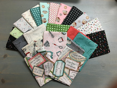 Happiness is Homemade Fat Quarter Bundle