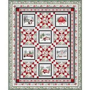 Holiday Heartland Quilt Kit