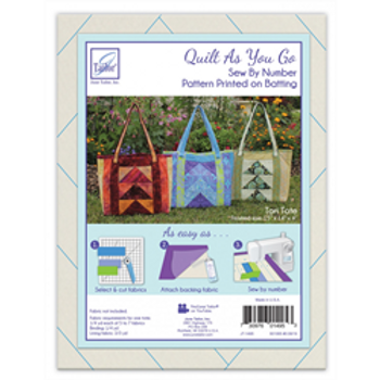 Tori Tote Quilt as you Go- by June Tailor