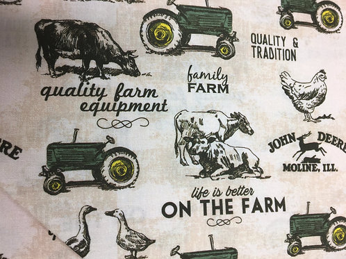 John Deere Life is Better on the Farm by Springs Creative