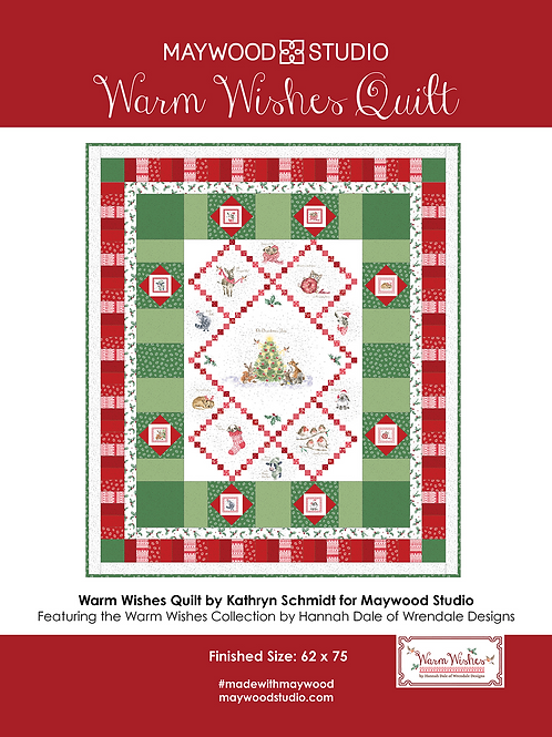 Warm Wishes Quilt Kit by Maywood Studios