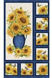 Accent on Sunflowers Panel