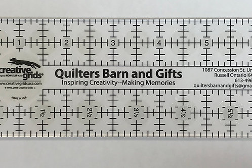Quilters Barn & Gifts Custom Ruler
