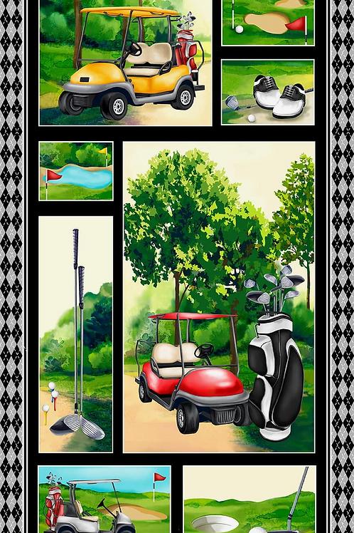 The Back Nine Golf Panel