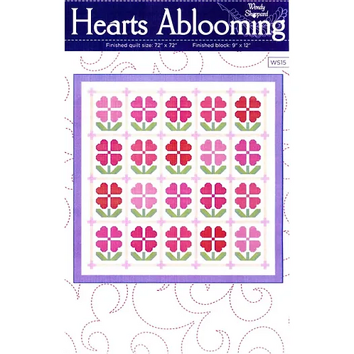 Hearts Ablooming by Wendy Sheppard