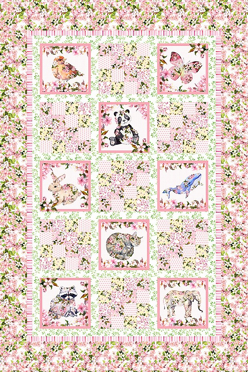 Pretty in Pink from In The Beginning Fabrics