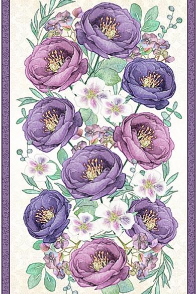 Violette Panel by Wilmington Prints