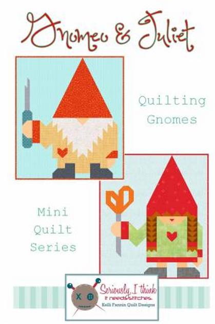 Gnomeo & Juliet  Kelli Fannin Quilt Designs