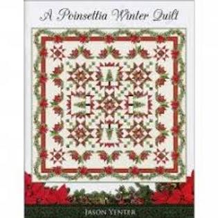 Poinsettias Winter Quilt by Jason Yenter