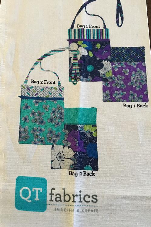 Runaround Bag by Lazy Girl Designs--fabric by QTfabrics