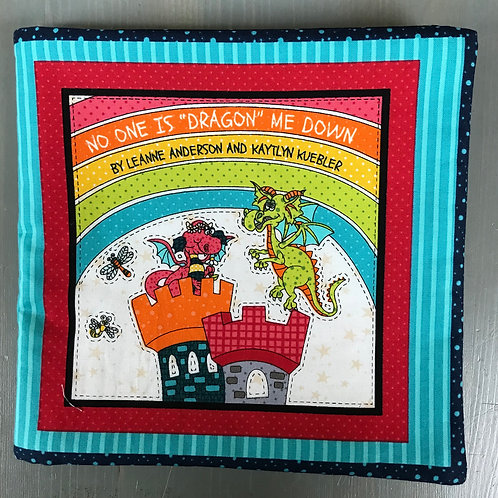 No One is Dragon Me Down Panel by Henry Glass Fabrics