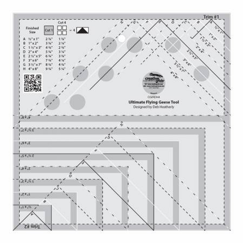 Ultimate Flying Geese Tool by Creative Grids
