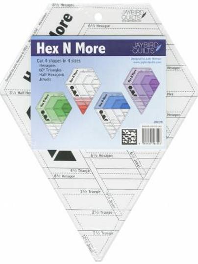 Hex N More Ruler by Jaybird Quilts  JBQ 201
