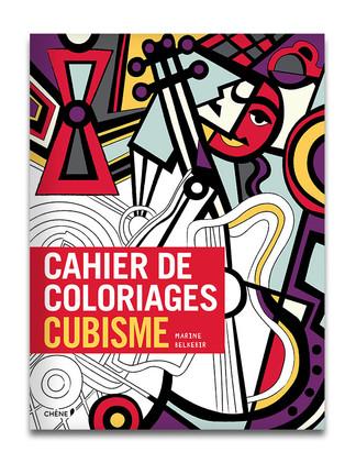 CAHIER DE COLORIAGE : CUBISME
