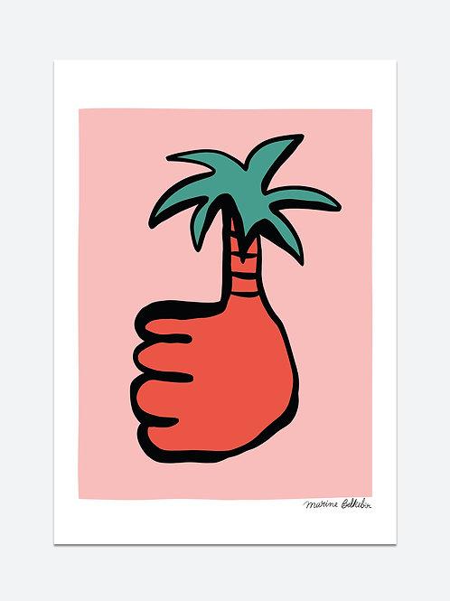 Good palm (A3)