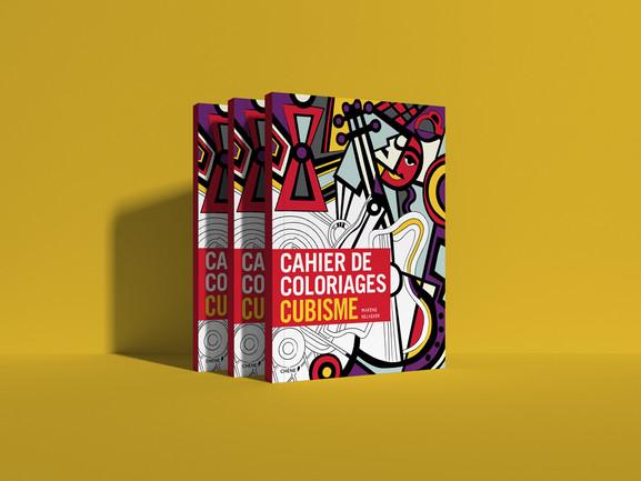 Cahier de coloriage cubisme