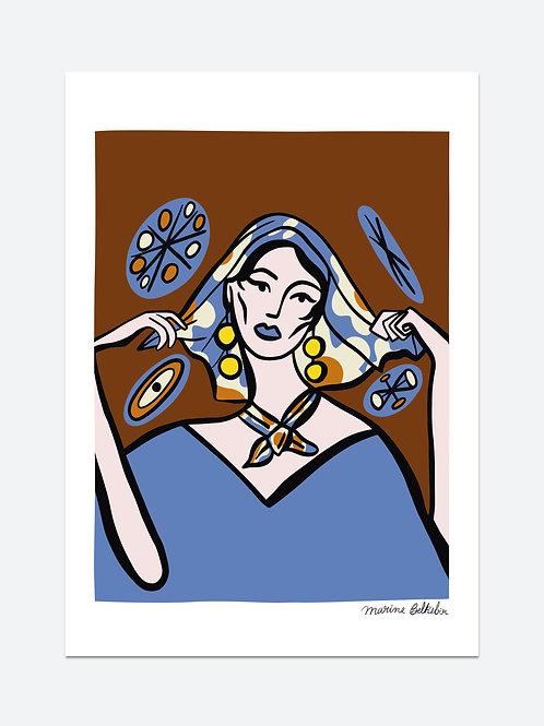 La femme au foulard (A3)