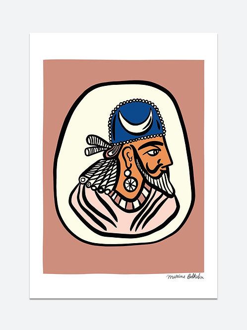 Roi de Perse (A3)