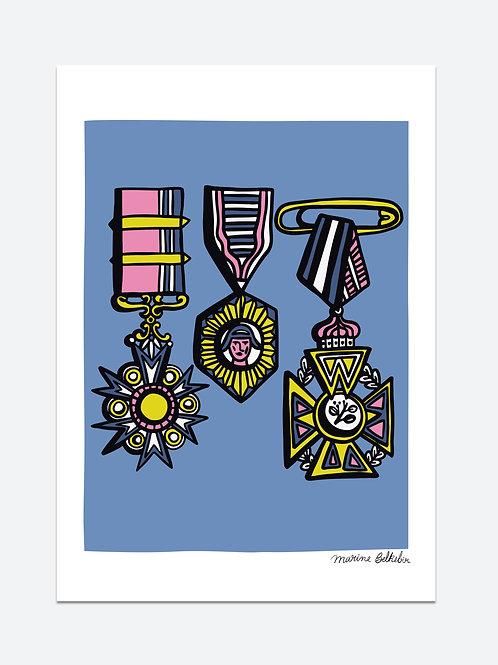 Médailles (A3)