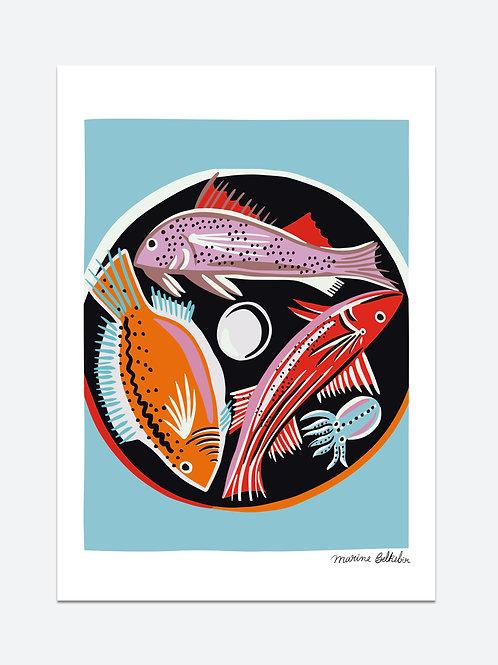 La ronde des poissons (A3)