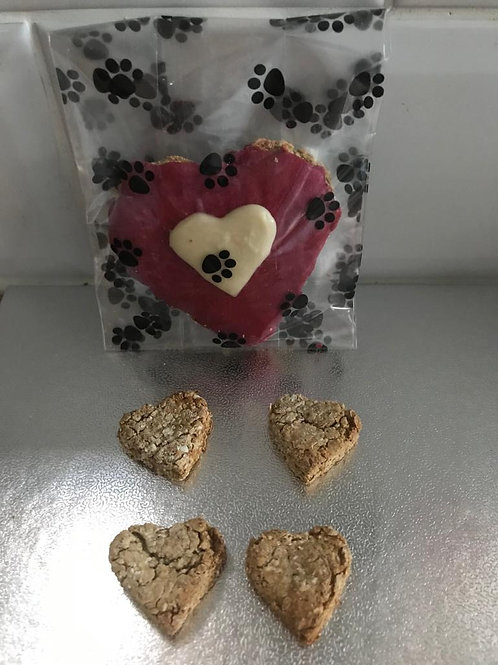 Valentines Heart Biscuit Selection