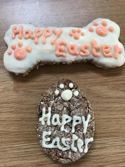 Easter Egg Biscuit And Bone
