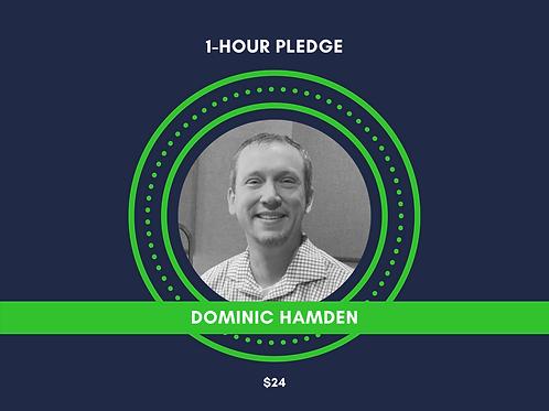 Make a Pledge for Dominic Hamden