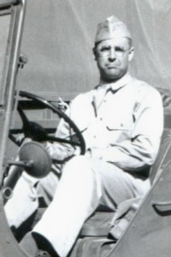 hoover, george in jeep