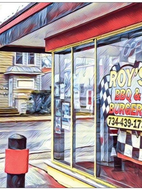 Notecard: Roy's BBQ