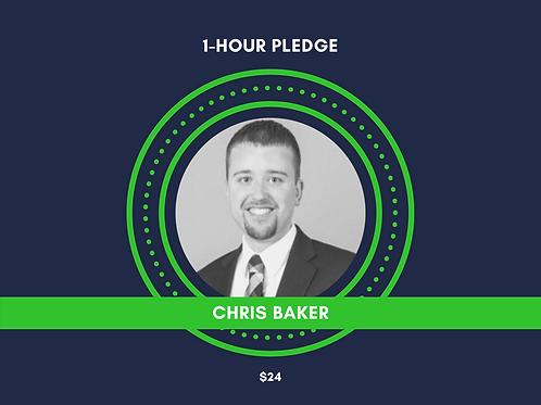 Make a Pledge for Chris Baker