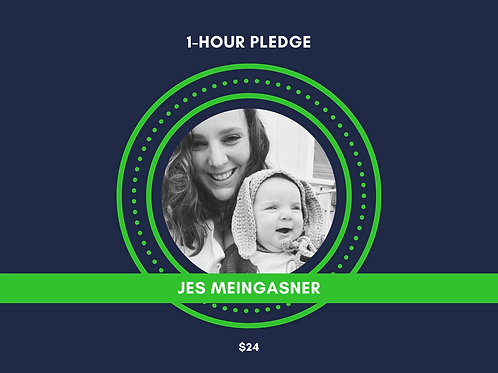 Make a Pledge for Jes Meingasner