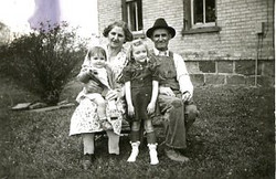 hoover, lizzie & john with sally & margaret