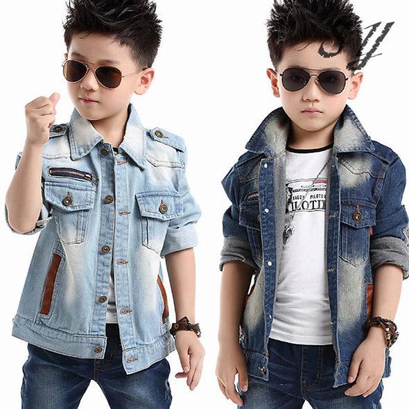 Jean shirt for boy