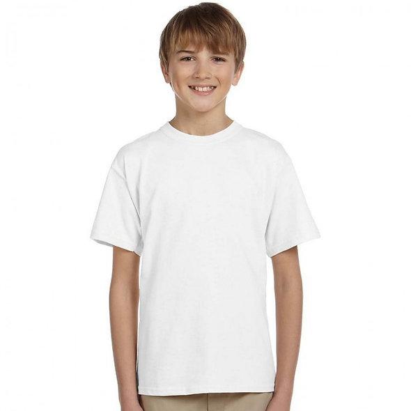 White Tee for Kid Boy