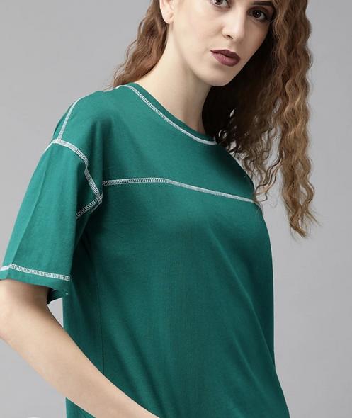 Casual Regular Sleeve Green top